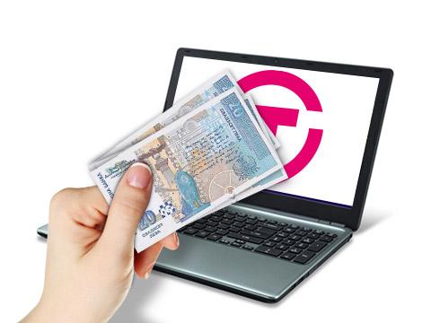 Внасяне на пари на ПОС, в офис на EasyPay или чрез Epay