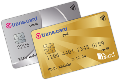 национални кредитни карти Транскарт
