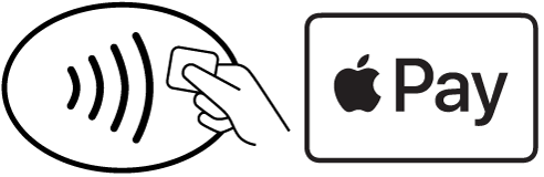 Apple Pay and Contactless logo