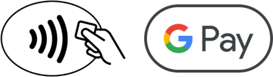 Google Pay and Contactless logo